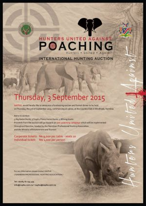 The fight against ivory and rhino poaching
